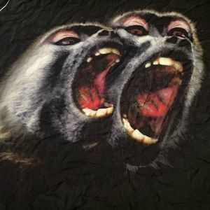 Givenchy Monkey Brothers Scarf